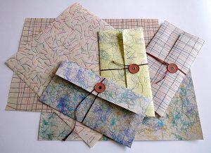 和紙と糸でつくるオリジナルクロス